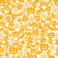 Halloween orange background Stock Images