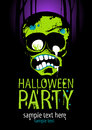 Halloween party. Royalty Free Stock Images