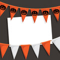 Halloween party card Royalty Free Stock Image