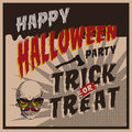 Halloween party design template vector eps image Stock Images