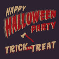 Halloween party design template vector eps image Royalty Free Stock Images