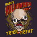 Halloween party design template vector eps image Royalty Free Stock Photography