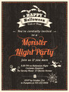Halloween Party Flyer Invitati...