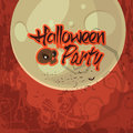 Halloween Party Poster, Banner or Flyer design.