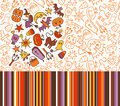 Halloween patterns Stock Image