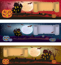Halloween , postcard . Royalty Free Stock Images