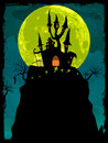 Halloween poster background. EPS 8 Royalty Free Stock Images