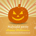 Halloween poster clip art Royalty Free Stock Photos
