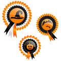 Halloween prizes Royalty Free Stock Image