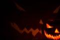 Helloween pumpkin-horror Royalty Free Stock Photo