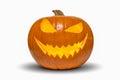 Halloween Pumpkin Isolated On ...