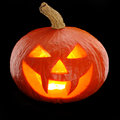 Halloween pumpkin Jack O'Lantern Stock Photos