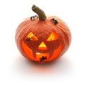 Halloween pumpkin Jack O'Lantern Stock Image