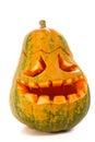 Halloween pumpkin scary jack o lantern Royalty Free Stock Images