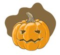 Halloween pumpkin - vector illustration Stock Image