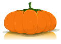 Halloween Pumpkin Vegetable Royalty Free Stock Image