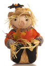 Halloween scarecrow Royalty Free Stock Photography