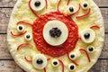 Halloween Scary Food Funny Eye...