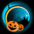 Halloween scary vector abstract background Royalty Free Stock Photo
