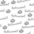 Halloween seamless background Stock Images
