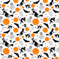 Halloween seamless background Royalty Free Stock Image