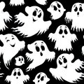 Halloween seamless background eps vector illustration Stock Photo