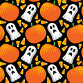Halloween Seamless pattern Stock Image