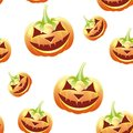Halloween seamless pattern, Stock Photos