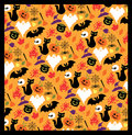 Halloween seamless pattern for Stock Photography
