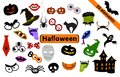 Halloween Design elements for party props.