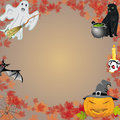 Halloween set this is file of eps format Royalty Free Stock Photo