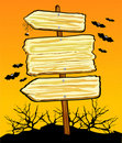 Halloween sign Royalty Free Stock Photography
