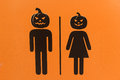 Halloween sign Royalty Free Stock Photo