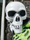 Halloween Skeleton Skull Scary...