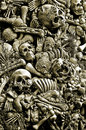 Halloween Skulls And Bones Royalty Free Stock Photo
