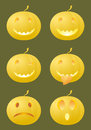 Halloween smiles Royalty Free Stock Photo