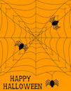 Halloween Spiderweb Background Stock Photo