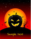 Halloween spooky wallpaper Royalty Free Stock Image