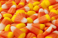 Halloween Striped Candy Corn Royalty Free Stock Photo