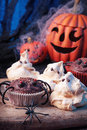 Halloween sweets Stock Photos