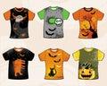 Halloween  t-shirts. Stock Image