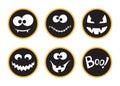 Halloween tags set