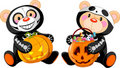 Halloween Teddy Bear Royalty Free Stock Photos