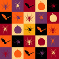 Halloween tiles Stock Images