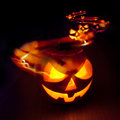 Halloween Trails Royalty Free Stock Photo