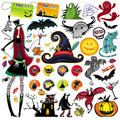 Halloween vector elements Royalty Free Stock Photo