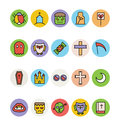 Halloween Vector Icons 4 Royalty Free Stock Photo