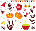 Halloween vector Icons set III Royalty Free Stock Photo