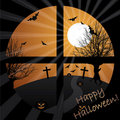 Halloween view Royalty Free Stock Photos