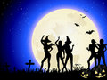 Halloween Witch Party Royalty Free Stock Images